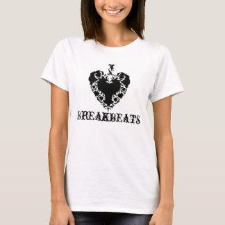 Camiseta Manga Breakbeats-Para mujer T del cortocircuito de