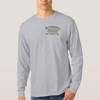 Camiseta Manga larga básica de la música de Bluegrass