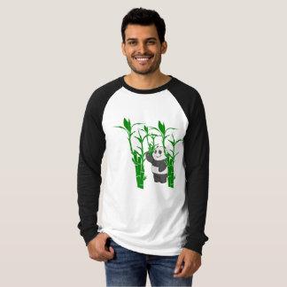 Camiseta manga larga con dibujo de panda