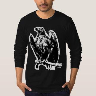 Camiseta Manga larga de Eagle del zombi