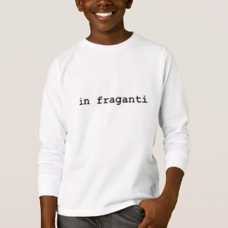 Camiseta mangas largas logo in fraganti