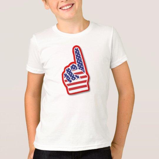 Camiseta Mano de la espuma de los E.E.U.U. #1/el 4 de julio