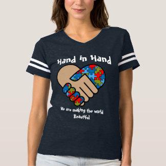 Camiseta Mano y mano