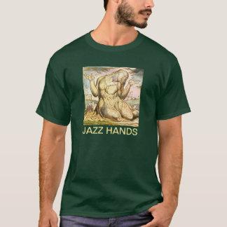 Camiseta Manos estúpidas del jazz de Guillermo Blake