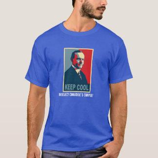 Camiseta Mantenga fresco (reelija el cadáver de Coolidge!)