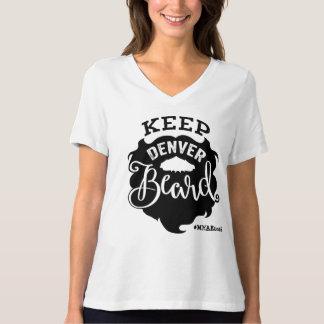 """Camiseta """"Mantenga las mujeres de la barba de Denver"""" con"""