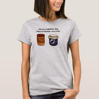 Camiseta Mantequilla y jalea de cacahuete