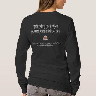 Camiseta Mantra de Dattatreya/de Guru de las mujeres