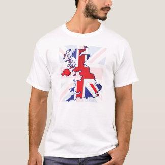 Camiseta Mapa BRITÁNICO