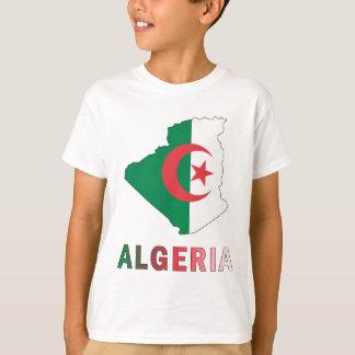 Camiseta Mapa de Argelia