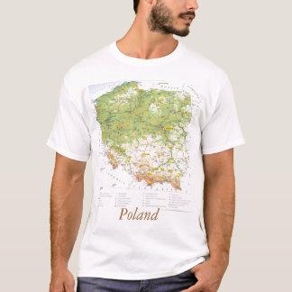Camiseta Mapa de Polonia