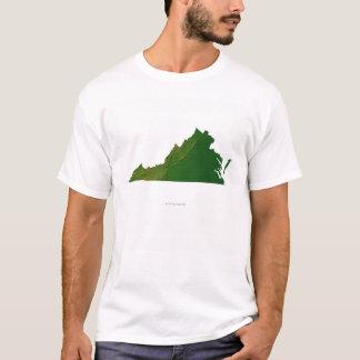 Camiseta Mapa de Virginia