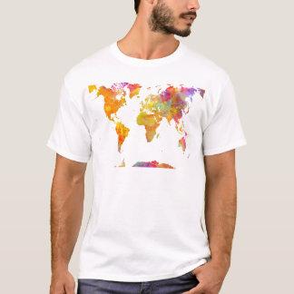 Camiseta mapa del mundo