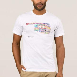 Camiseta Mapa del Oklahoma City