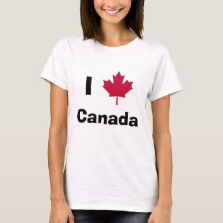 Camiseta mapleleaf, Canadá