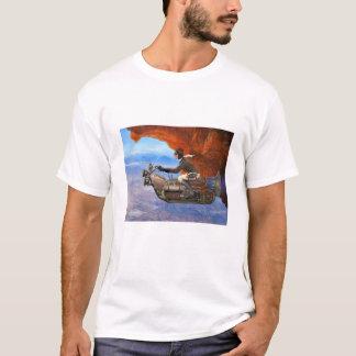 Camiseta Máquina de vuelo de Steampunk