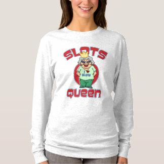 Camiseta Máquina tragaperras de la reina de las ranuras