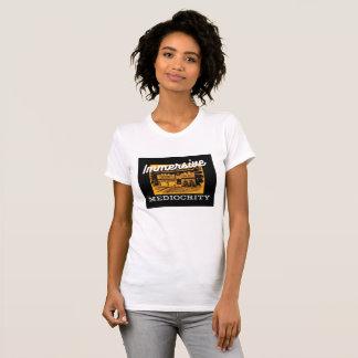 Camiseta Marca de la mediocridad de Immersive: bajo-frente