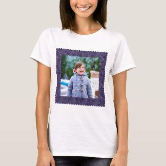 Camiseta Marco de la frontera de la foto