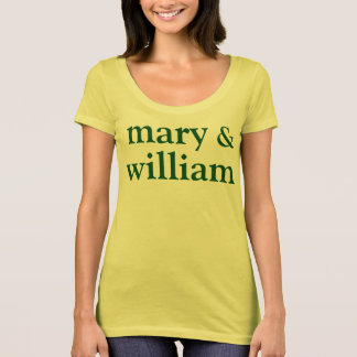 Camiseta Maria y Guillermo