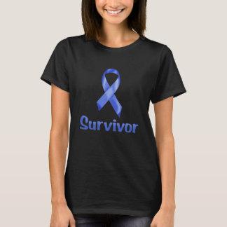Camiseta Marina de guerra del superviviente del cáncer