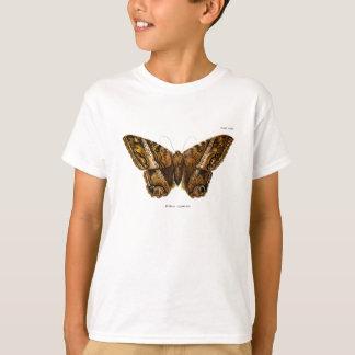 Camiseta Mariposa borrosa de la plantilla de la polilla de