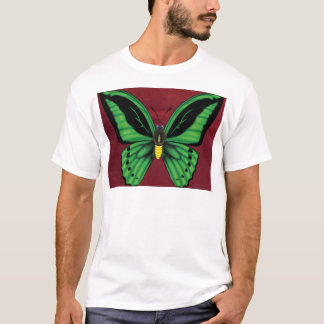 Camiseta Mariposa de Birdwing de los mojones