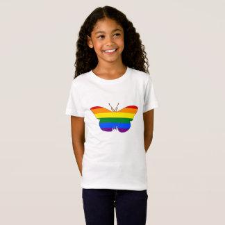 Camiseta Mariposa del arco iris