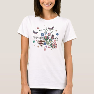 Camiseta Mariposas de Supergirl