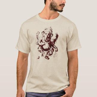 Camiseta marrón del ganesh