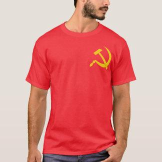 Camiseta Martillo y hoz comunistas