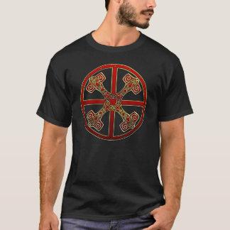 Camiseta Martillo y rueda (negro)