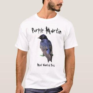 Camiseta Martin púrpura