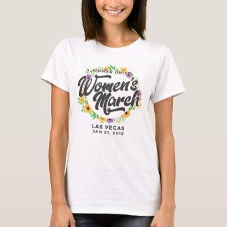Camiseta Marzo de las mujeres de Las Vegas