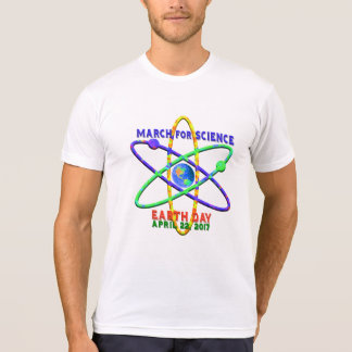 Camiseta Marzo para ciencia Día de la Tierra el 22 de abril