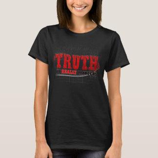 Camiseta Marzo para la verdad - importa realmente las