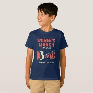 Camiseta Marzo San Diego marzo oficial de las mujeres