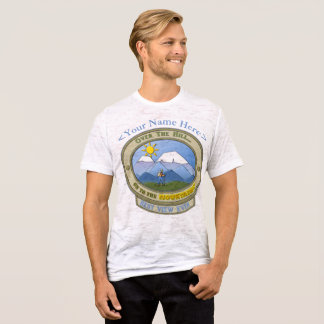 Camiseta ¡MÁS ALLÁ DEL HORIZONTE! Personalizable, T-S