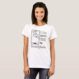 Camiseta Más elegante que la hembra de Smartphone