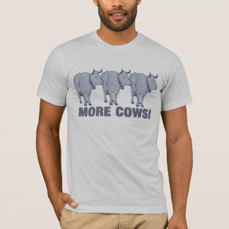 Camiseta ¡Más vacas!