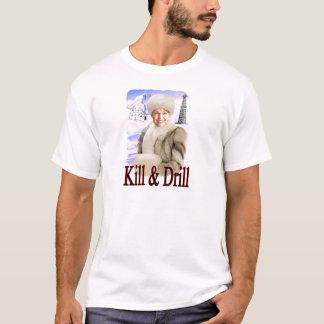 Camiseta matanza y taladro