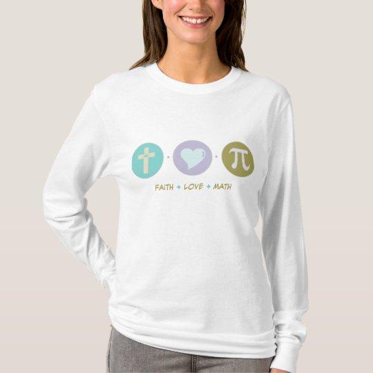 Camiseta Matemáticas del amor de la fe