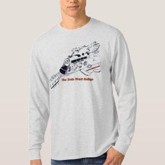 Camiseta Materia de las conclusiones de la ruina del tren
