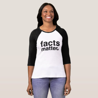 Camiseta Materia de los hechos. ¡Resista el triunfo!