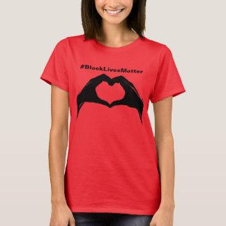Camiseta # materia negra T de las vidas