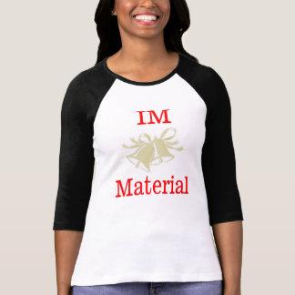 camiseta material de la boda