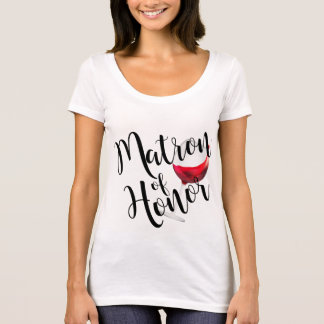Camiseta Matrona del vino del honor