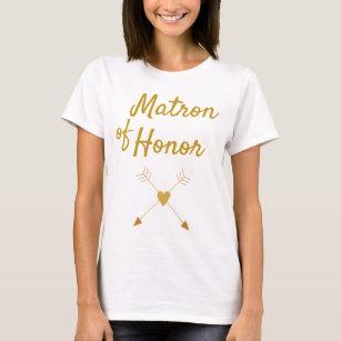 fe41c95772 Camiseta Matrona hermosa del regalo del honor