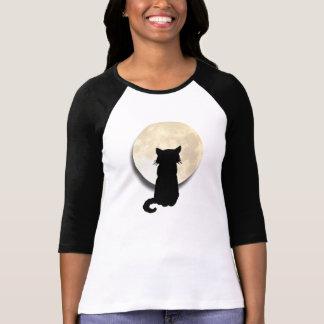 Camiseta Maullido en la luna