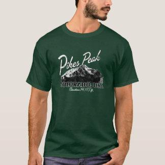 Camiseta máxima apenada del diseño de Colorado de